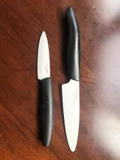 2 Advanced Ceramic Knives Utility & Paring (Kyocera & Miu France)