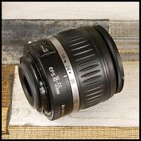 Canon EOS AF EF-S Digital fit 18 55mm Mk2 zoom lens for APS-C Crop Sensor
