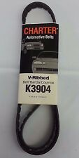Serpentine Belt-Automotive V-Ribbed Belt (Standard) Gates Charter K3904