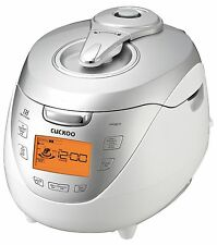 Cuckoo CRP-HR0867F IH 8 Cups Pressure Rice Cooker, Silver, 110V, Made in Korea