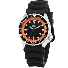 SHARK ARMY MK46 Orange Date Display Silicone Military Sport Men's Wrist Watch