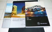 2014 Mercedes Cla 250 45 Owners Manual Set 14 Cla250 Cla45 Amg Guide +Case