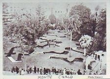 1931  --  MONTE CARLO  LE MINI GOLF   K800