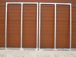 STEEL GATE FRAMES ,  BRAND NEW  , 25MMX25MM TUBING , SUIT 3M OPENING