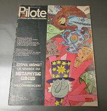 PILOTE French Comic Cartoon Magazine 52 pgs COLOR Oversized  #602 VG
