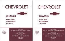 Chevelle and El Camino Chassis Parts Book 1964 1965 1966 1967 1968 1969 Malibu