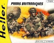 Heller - Britische Fallschirmjäger British Paratroopers Diorama 1:72 NEU OVP kit
