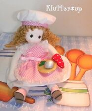 RACHEL-Musical/Music Animated Girl Chef Doll Mother Cook*Blonde