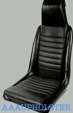 Fits PORSCHE 914 FRONT SEATS NEW UPHOLSTERY RECOVERY KIT FITS 1972-1974 BLACK