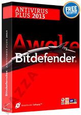 BITDEFENDER ANTIVIRUS PLUS 2013 - 1 PC USER - 1 YEAR - License FREE 2015 Upgrade