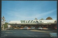 CA Roseville CHROME 1975 MILLER'S FURNITURE STORE Maple Shop Advertising