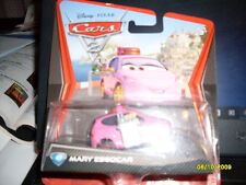 "DISNEY CARS KMART MARY ESGOCAR NEW IN PACKAGE ""RETIRED"" VHTF!!!"