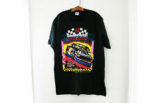 """Vintage 1992 Goodwrench """"The Rock"""" N.C, Motor Speedway Race Car T Shirt Sz L"""