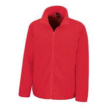 LIGHTWEIGHT FULL ZIP MICRON FLEECE JACKET COAT RED L 44 WOMENS MENS LADIES NEW