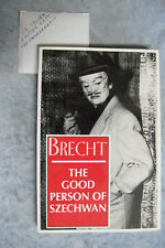 The Good Person Of Szechwan - Bertolt Brecht woman playscript OzSellerFasterPost