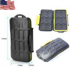 Memory Card Case Box Holder 12 Slots for Micro SD TF Cards Storage Waterproof