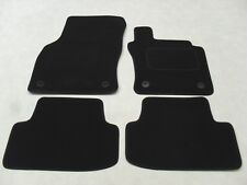 VW T-ROC 2017-on Fully Tailored Deluxe Car Mats in Black