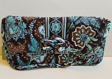 Vera Bradley Java Blue Knot Just a Clutch, RETIRED NWT FREE SHIPPING