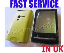 Case Fascia Housing Back Battery Cover For S.E Xperia X10 Mini U20i Green UK