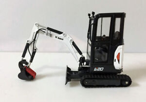 New Arrived Bobcat E20 With Cabin EU Version Compact Excavator 1/25 Scale UH8098