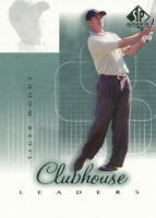 2002 SP Authentic #56SPA Tiger Woods Golf Card Upper Deck