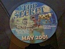 Top Secret Record MAY 2001 Hip Hop Rap Redman Dupri 8ball Lil John Silkk Masta S