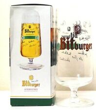 BITBURGER  POKAL TULIP SHAPE BEER GLASS - 0.5L - LIMITED EDITION