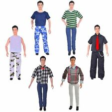 Ebuddy Fashion 3pc/Set Mini Doll Outfits Clothes For Ken Carson Prince