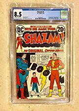 Shazam #1 - Origin Retold - CGC 8.5  - DC Comics 2/73