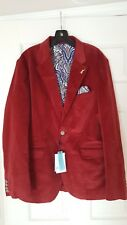 Robert Graham Red Coat Size 40 Men's [RARE]