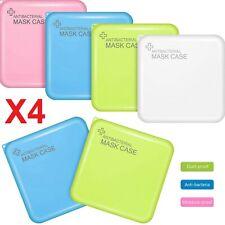 Porte Masques Étui Cover Récipient Organiseur Portable de Poche X4