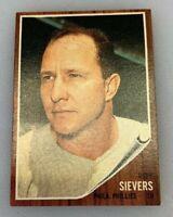 1962 Topps # 220 Roy Sievers Baseball Card Philadelphia Phillies