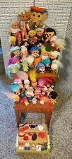 Vintage Collectible 1960s Troll Dolls Animals Dam Things Lot of 46