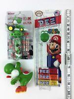 Super Mario Nintendo YOSHI Collectible Figure Candy Toy Figurine Pez Klik LOT