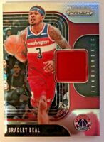 2019-20 Panini Prizm Sensational Swatches Bradley Beal Jersey Relic Card #SS-BBL