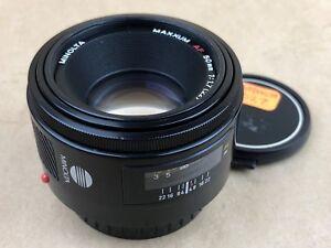 Minolta AF 50mm f/1.7 (22) Maxxum Sony Lens