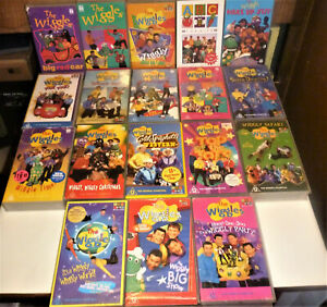 The Wiggles 18 VHS Video Movies