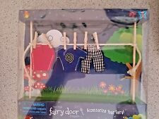 Irish Fairy Door – Clothes Line with Male Clothes