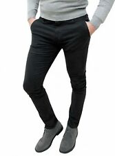 Pantalones Hombre Sastrería Otoño Invierno Slim Fit Casual Elegantes de Algodón