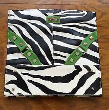 Miche Bag Classic Shell Zoe Zebra Print Green Retired Medium