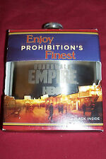 Boardwalk Empire Whisky Flask Whiskey Liquor Hip Vest Pocket 6 Oz Ounce HBO SS