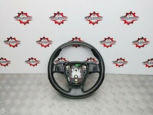 VOLVO C70 MK2 S40 MULTIFUNCTION BLACK LEATHER STEERING WHEEL 30721754