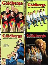 New The Goldbergs Complete TV Series Seasons 1-4 DVD SET! NO RESERVE AUCTION!!