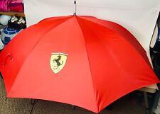 Ferrari Folding Umbrella Walking Cane Red Formula 1 Xtra Large. ☔️ Umbrella ☔️