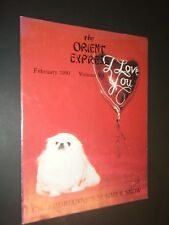 The Orient Express February 1990 Vol 7 No 4 Pekingese Photographs & Articles