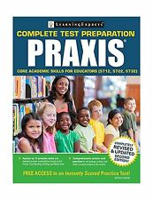 Praxis: Core Academic Skills for Educators (5712 5722 5732) Free Shipping