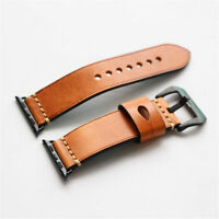 Genuine Leather Watch Band Wrist Strap For Apple Watch iWatch Series 1