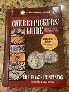 Cherrypickers Guide to Rare Die Varieties of U.S. Coins, 4th Ed. Vol. II Spiral