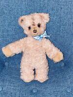 """12"""" STEIFF VINTAGE TEDDY BEAR SILVER BUTTON IN EAR GERMANY KIDS OLD TEDDY BEAR"""