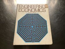 Engineering Economics 1977 HARDCOVER by James L. Riggs #1437